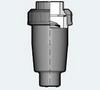Воздухоотводный клапан ПВХ с муфтовым окончанием (VAIV)