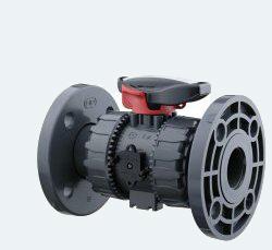 Шаровый кран промышленного применения с фланцевым окончанием (VKDOV)
