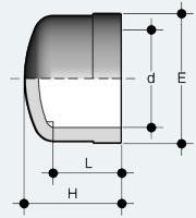 Заглушка ПВХ (CIV)